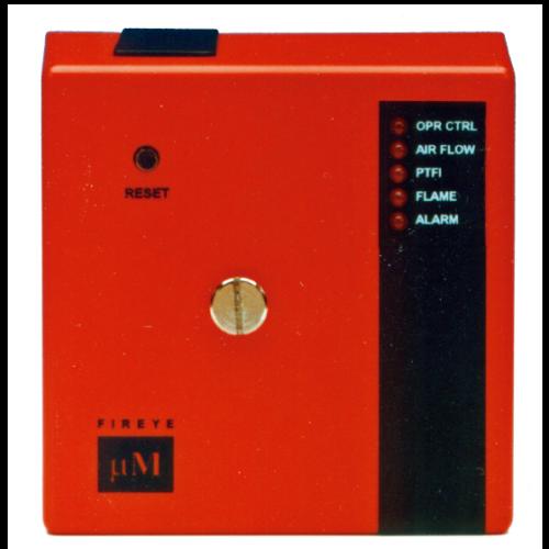 MicroM Fireye - Seguridad de flama