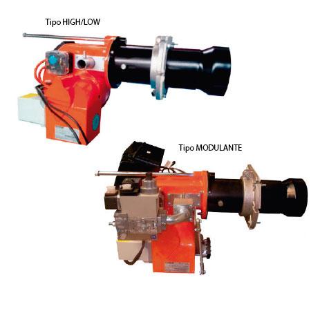 Quemador ecostar - High-Low ECO2-GC2A y Modulante ECO2-GC3A